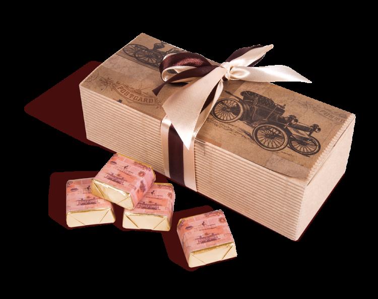 Набор молочного шоколада в подарок